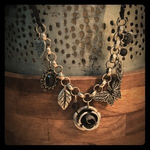Charm inspired necklace